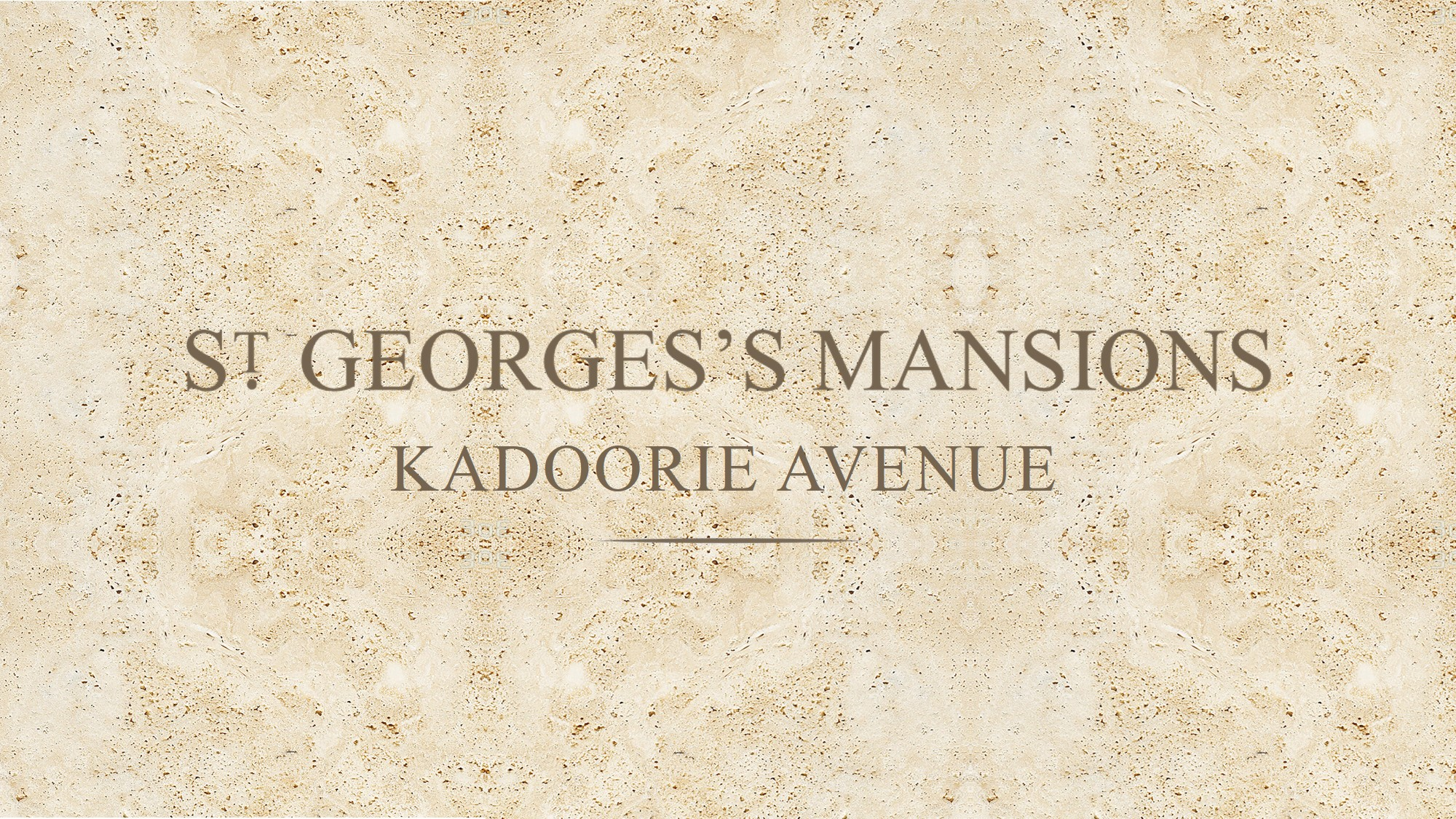 ST. GEORGE'S MANSIONS