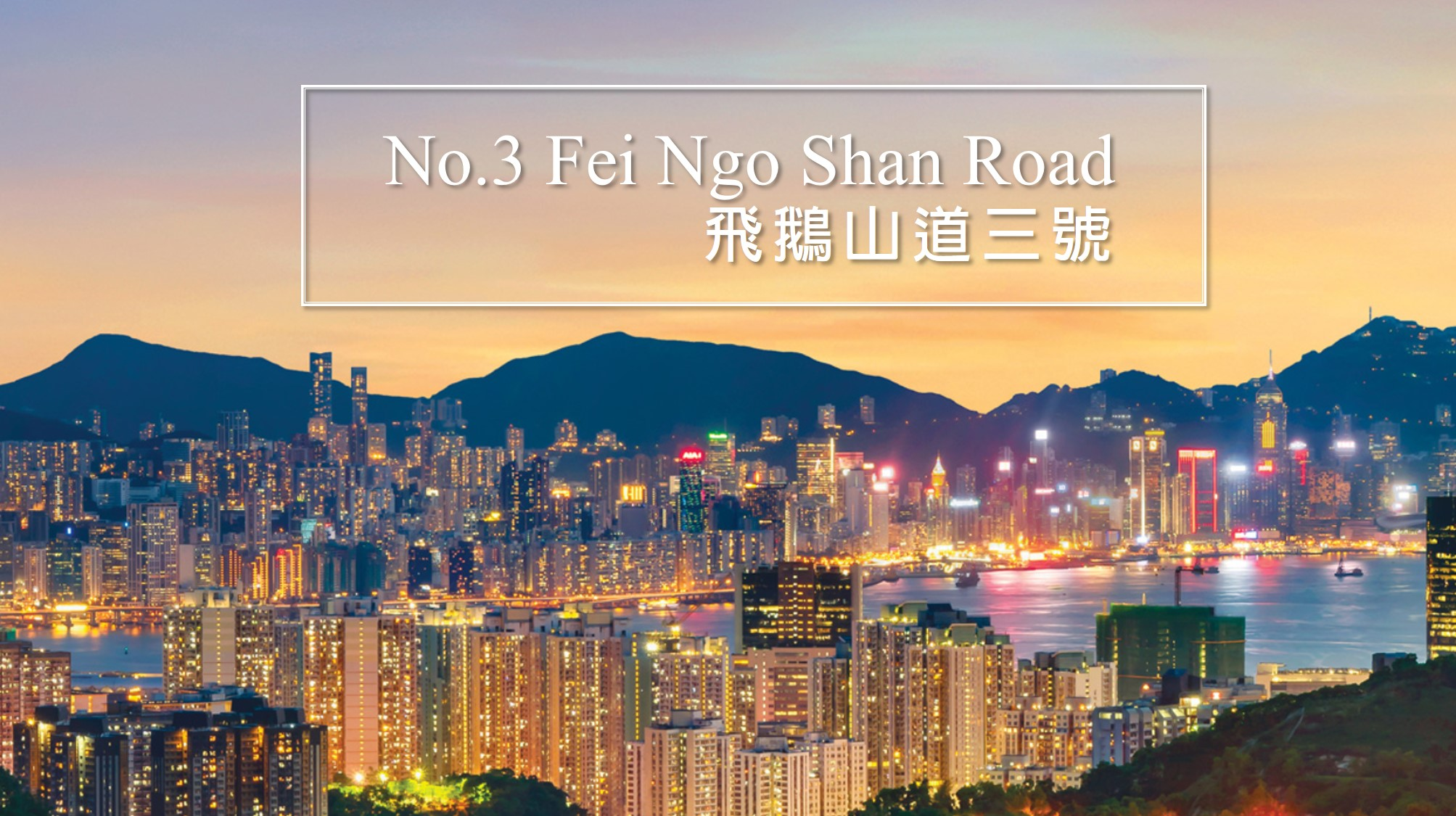 飞鹅山道三号 No 3 Fei Ngo Shan Road